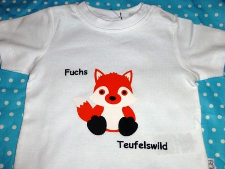 Aufdruck auf T-Shirt