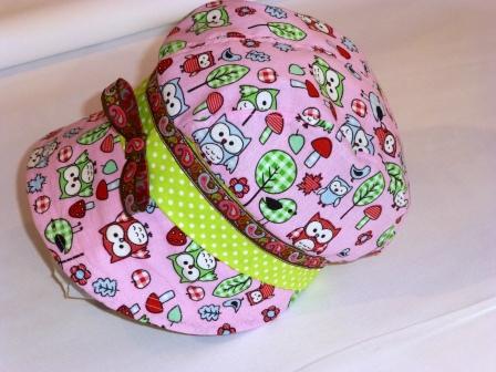Ein Einzelstück: selbstgenähte Mütze