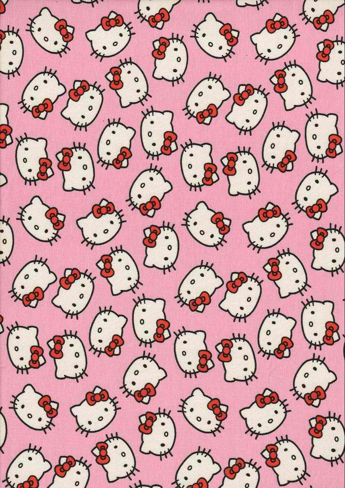Hello Kitty-Stoff