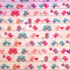 Stoffmuster mit Blumen Jersey / Baumwolle