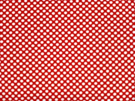 Rot gepunkteter Stoff