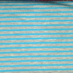 Blau / grau linierter Stoff